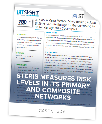 Case Study: STERIS Measures Risk Levels in its Primary and Composite Networks